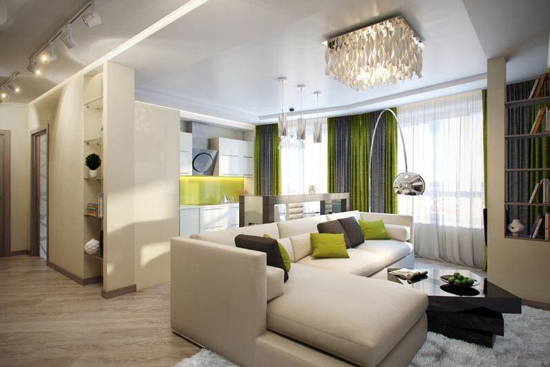 Дизайн квартиры-студии: как стереть и обозначить границы