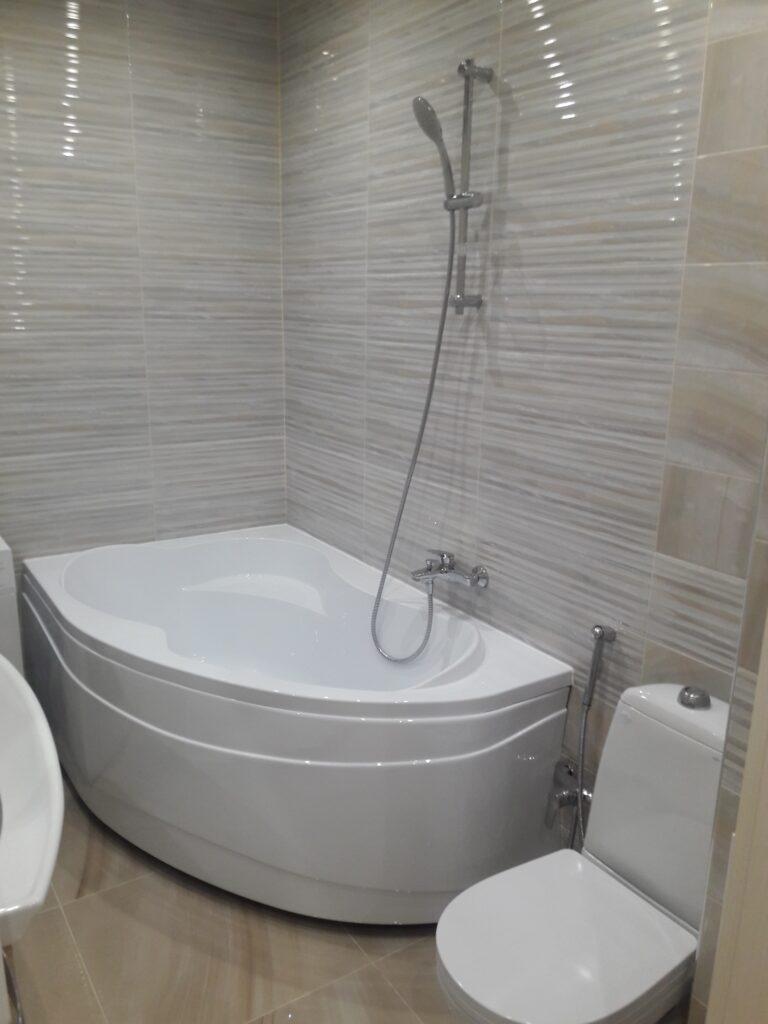 Евроремонт ванной 3