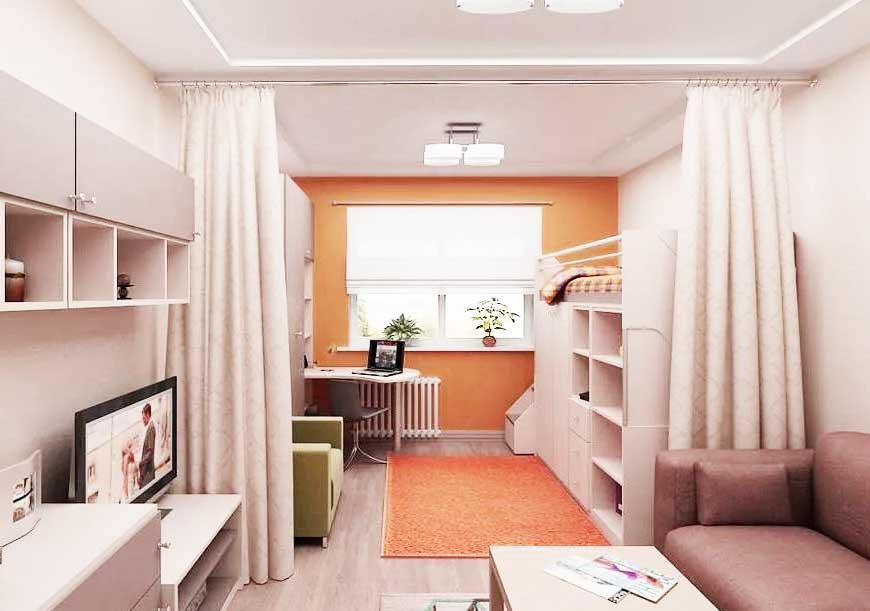Планировка в 1-комнатной квартире. Советы