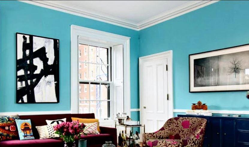 голубая мечта в квартире