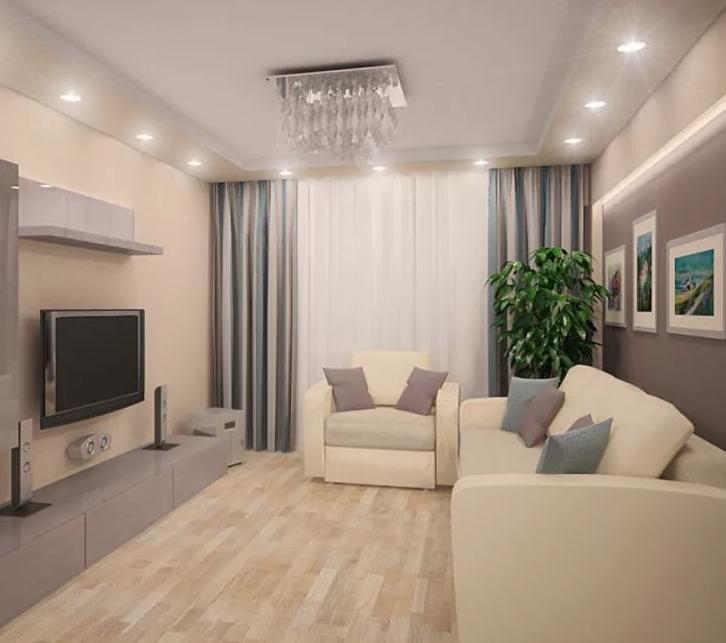 Ремонт гостиной в Казани