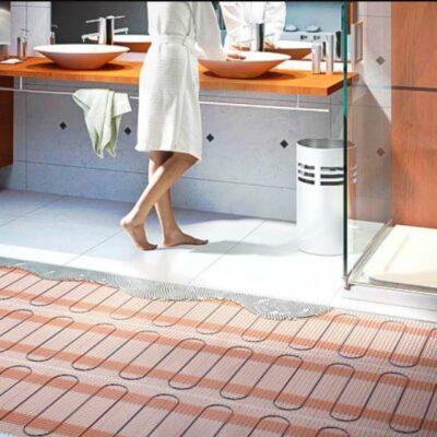 Ремонт коттеджа под ключ: отопление полов в доме
