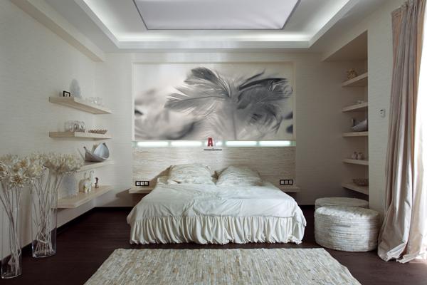 Розетки в спальне посл ремонта